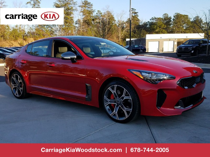Carriage Kia Woodstock >> New 2018 Kia Stinger GT2 RWD 4 Dr Sedan in Woodstock # ...