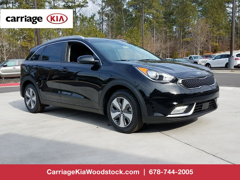 new 2018 kia niro lx fwd 4 dr suv in woodstock w01118 carriage kia of woodstock. Black Bedroom Furniture Sets. Home Design Ideas