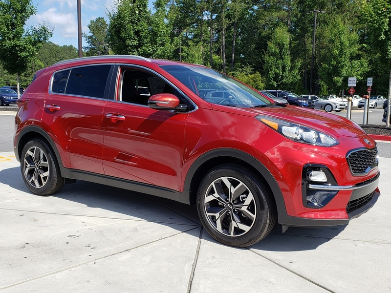 Carriage Kia Woodstock >> New 2020 Kia Sportage EX FWD 4 Dr SUV in Woodstock #W13176 ...